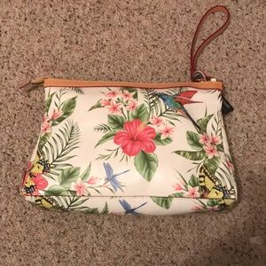Handbags - Printed Leather Purse Cavalcanti made in Italy